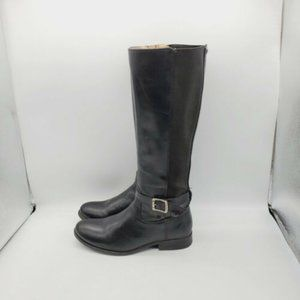 Frye Womens Leather Knee High Riding Boots 6.5 B